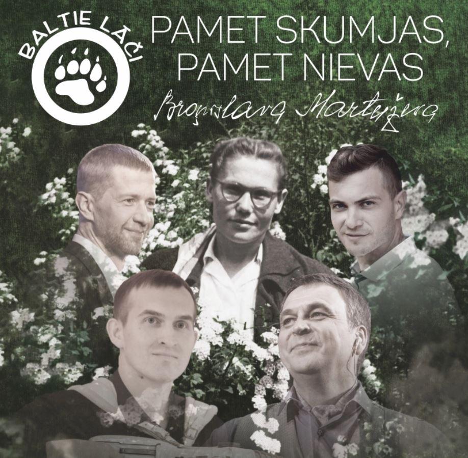 """Grupas BALTIE LĀČI  KONCERTS """"Pamet skumjas, pamet nievas"""""""