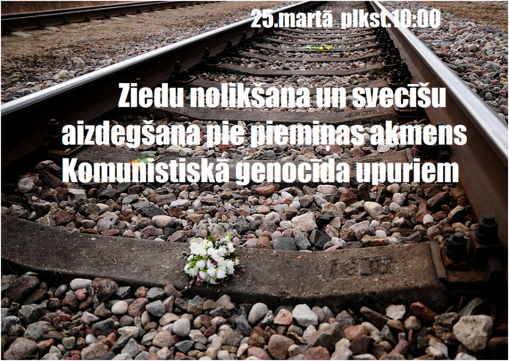 Komunistiskā genocīda upuru piemiņas diena Elkšņos