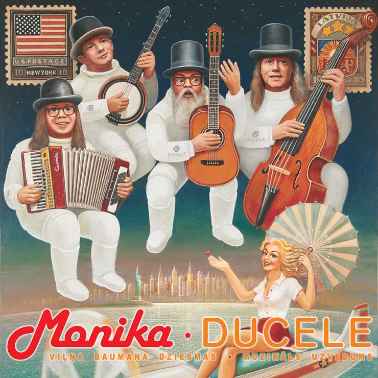 """Grupas Ducele koncerttūre """"Monika"""" Viesītē"""